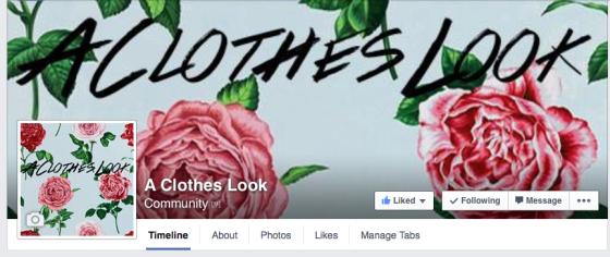 A Clothes Look Facebook